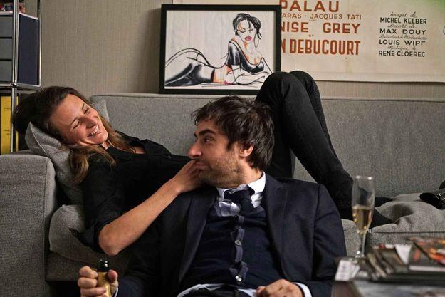 Gérard Lanvin et Béatrice Dalle dans la saison 3 — Dix pour cent