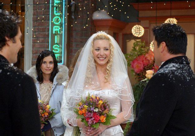 Friends : avec qui Phoebe devait-elle vraiment se marier ?