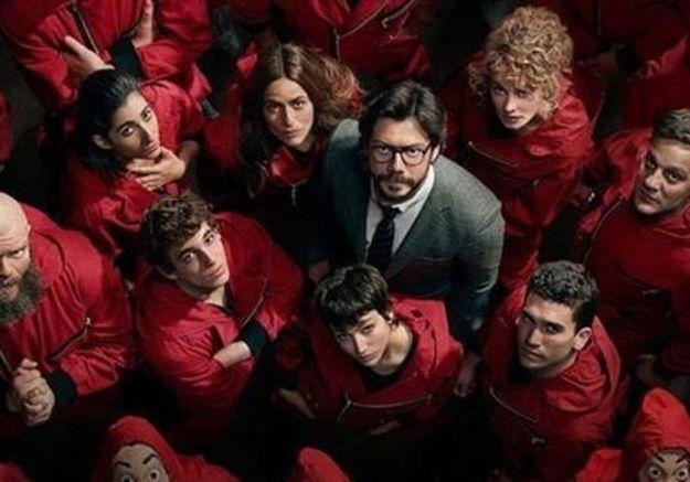 « La Casa de Papel » : les photos du tournage de la saison 5