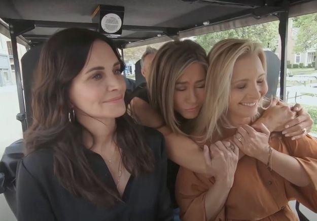 Le casting de « Friends » fait un « Carpool Karaoke » en plein tournage de l'épisode spécial