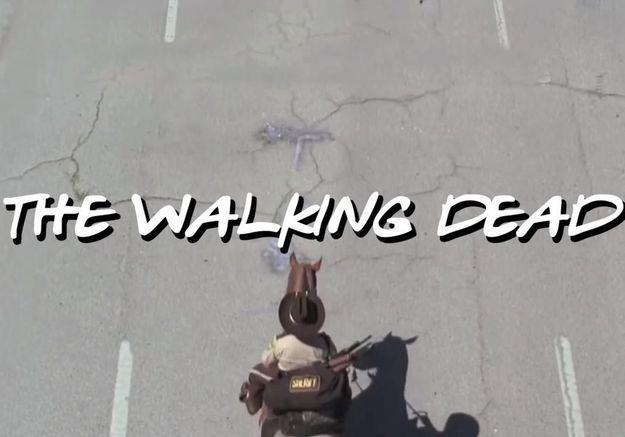 #PrêtàLiker : le générique de Friends réinterprété façon The Walking Dead
