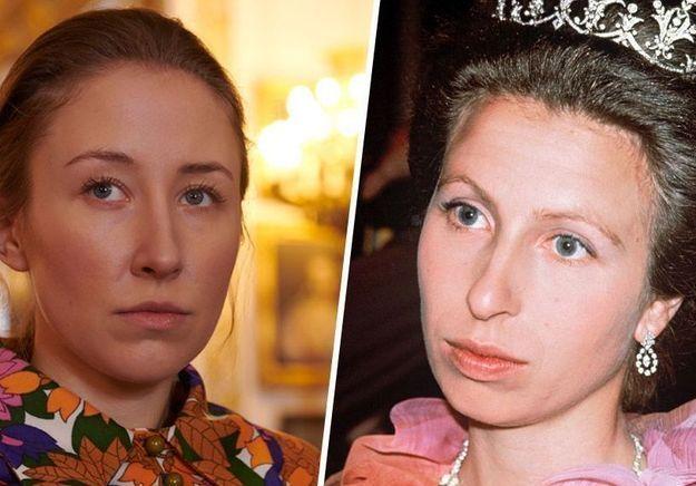 The Crown : la princesse Anne taquine l'actrice qui l'incarne dans la série