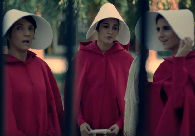 «The Handmaid's Tale» : la parodie de Florence Foresti avec Leïla Bekhti et Géraldine Nakache