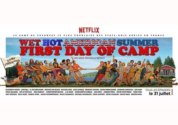 « Wet Hot American Summer – First Day of Camp » : la série 100%  eighties de Netflix