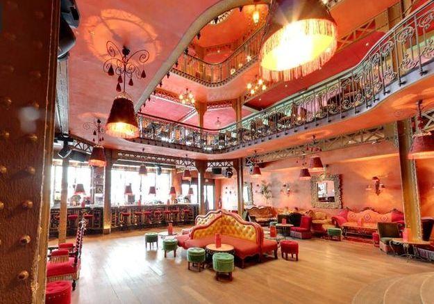 Un bar latino à Paris dans le quartier de Bastille