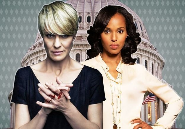 « Scandal » vs « House of Cards » : choisissez votre camp !