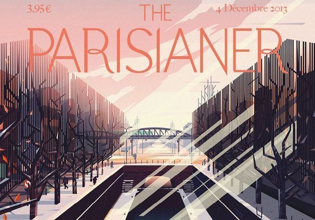 « The Parisianer » : 100 couvertures à la manière du « New Yorker »