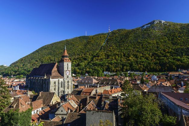 A Braşov en Roumanie