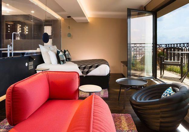 "Terrass"" Hotel, à Paris (France)"