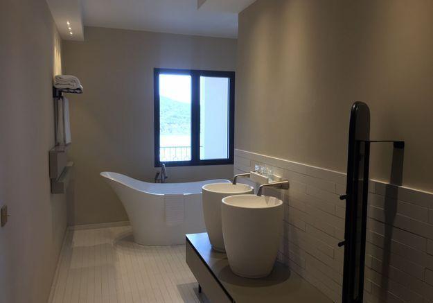 La salle de bain moderne