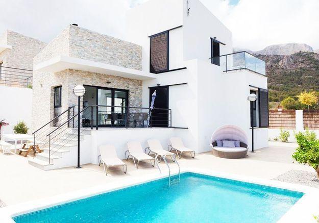Villa Unni, à Polop (Espagne)