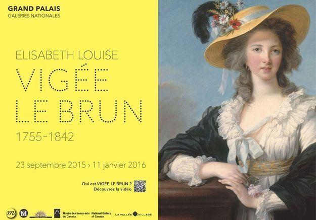 Gagnez des places à l'expo Vigée Le Brun au Grand Palais !