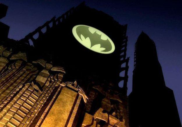 Batman : le Bat-Signal va être projeté dans le ciel de Paris