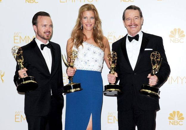 Emmy Awards 2014 : Breaking Bad triomphe, Game of Thrones repart bredouille