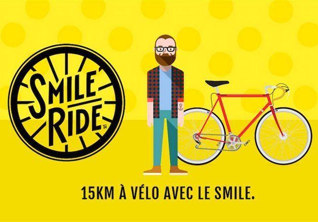 Smile Ride : gagnez des places pour l'événement green des accros du vélo !