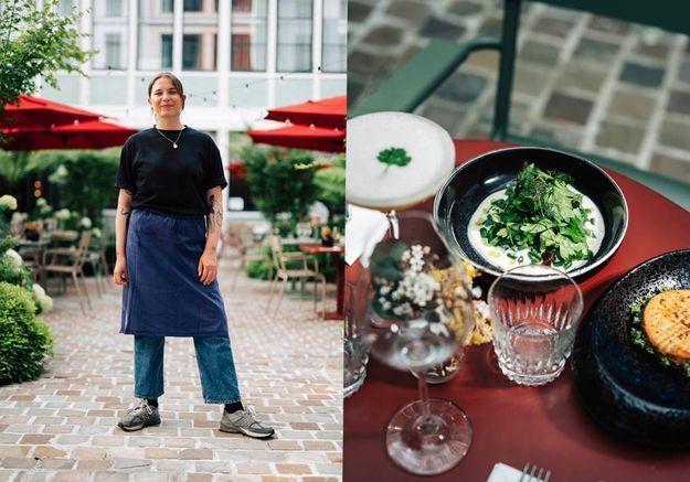 Que mange-t-on au resto parisien de Sarah Mainguy, finaliste de Top Chef ?
