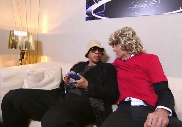 JoeyStarr et Gilles Verdez dans « Touche pas à mon poste » en avril 2016