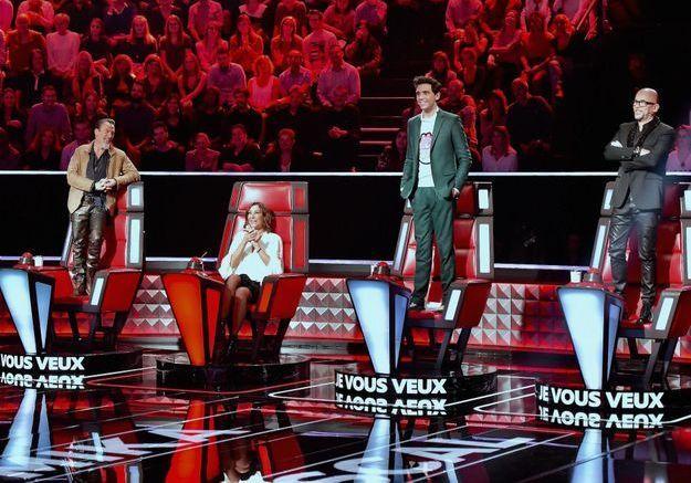 On était sur le tournage de The Voice saison 7 : Pascal Obispo, c'est le nouveau boss