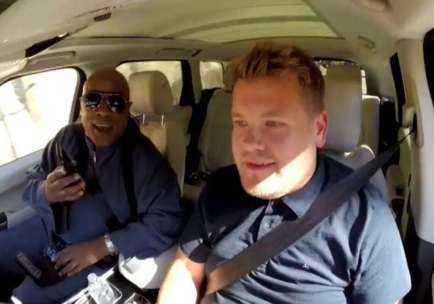 #PrêtàLiker : Stevie Wonder reprend ses plus grands tubes lors d'une balade avec James Corden