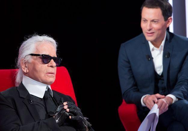 TV : ce soir, on écoute Karl Lagerfeld sur « Le Divan de Marc-Olivier Fogiel »