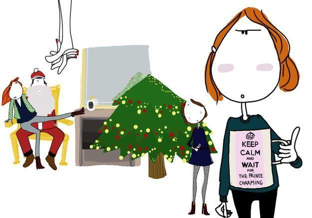 Noël en couple VS Noël célibataire