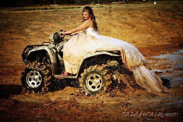 Trash the dress : tous les moyens sont bons !