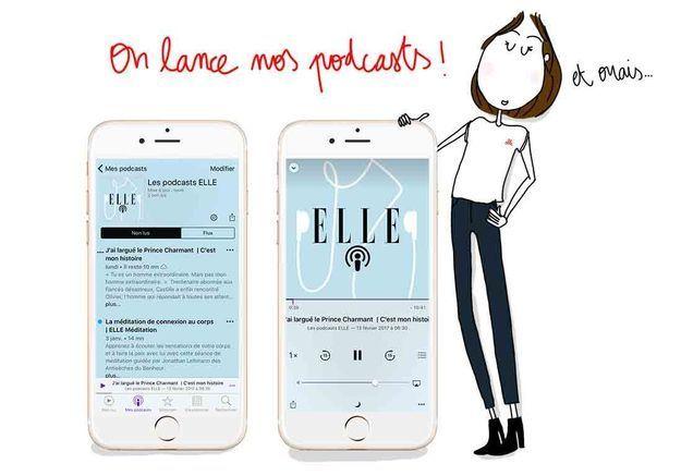 « C'est mon histoire » : les podcasts de ELLE sont nés !