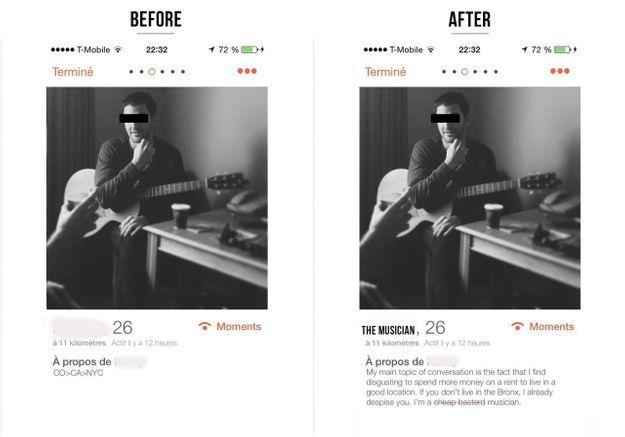 « Honest Profile », le Tumblr qui dévoile la vérité sur les profils Tinder
