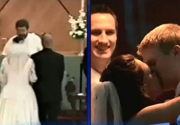 Romantique ! La demoiselle d'honneur et le témoin se marient 20 ans après