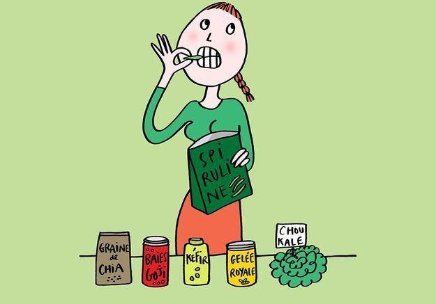 Graines de chia, kéfir, chou kale... Les saines résolutions du Dr Aga