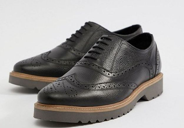 Chaussures richelieu en cuir grainé, Ben Sherman, 48€49