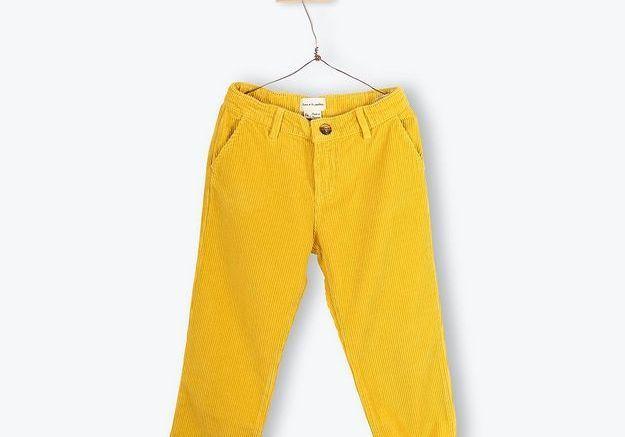 Pantalon velours cotelé Arsène et les pipelettes