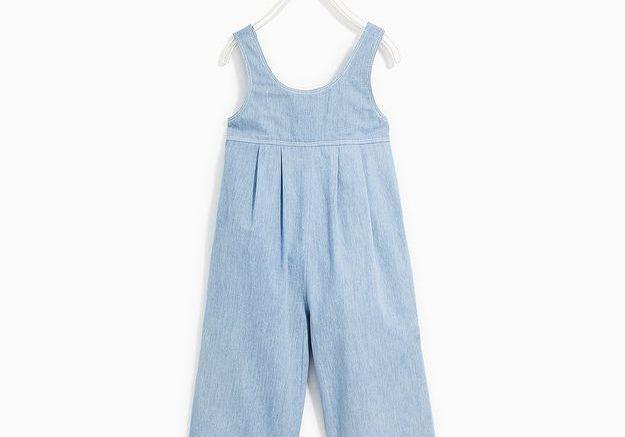 Combinaison en chambray Zara