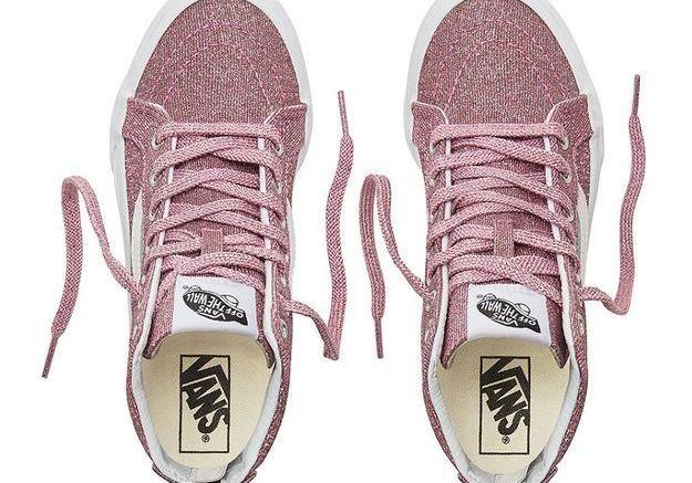 Chaussures Lurex Glitter Vans