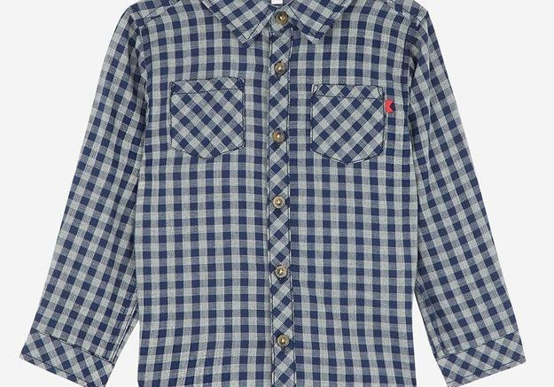 Chemise à carreaux Galeries Lafayette