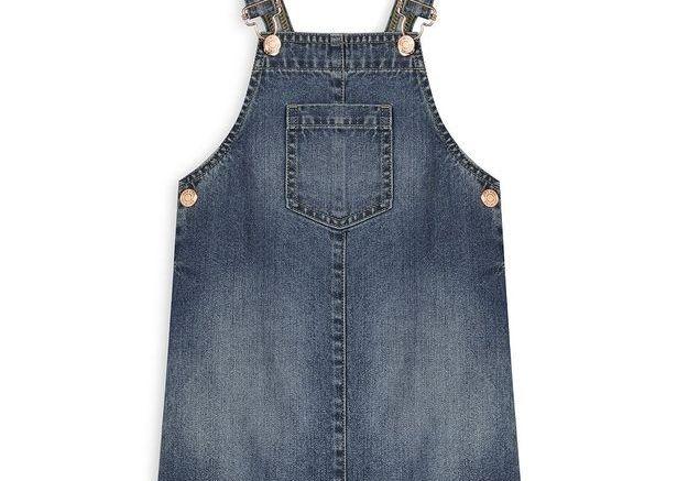 Robe chasuble en jean Primark