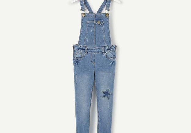 Salopette en jean à étoile Tape à l'œil