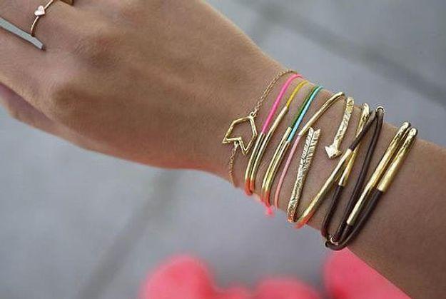 Cadeau fête des mères à faire soi-même : un bracelet