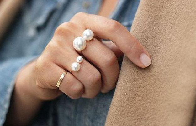 Bricolage fête des mères,  bagues bijoux