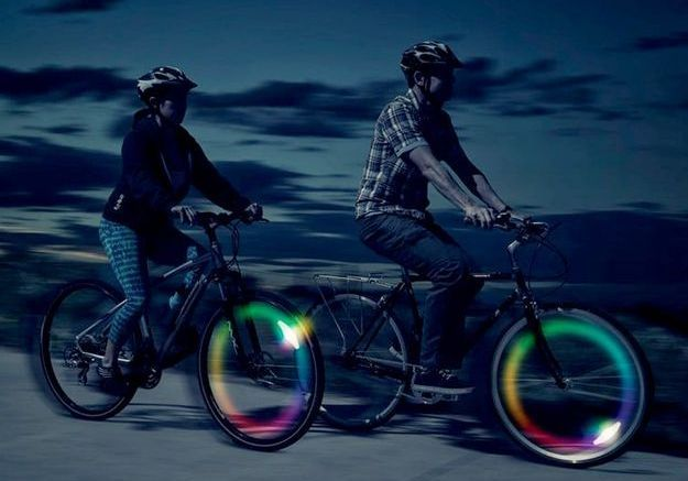 Des lampes pour vélos