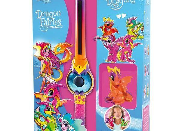 Un dragon Fairies baguette magique