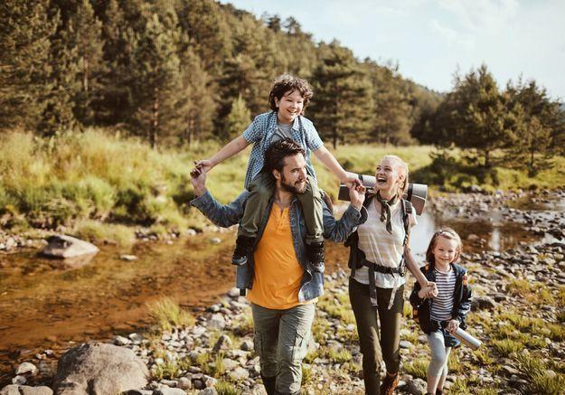 Comment randonner avec des enfants ?