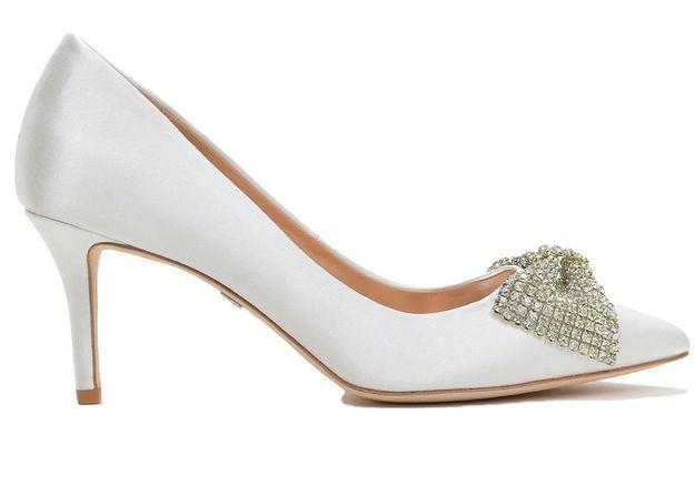 Chaussure de mariée à strass Badgley Mishka printemps été 2015