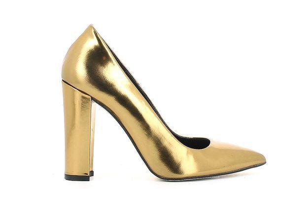 Chaussure de mariée dorée Jonak printemps été 2015