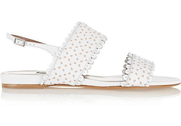 Chaussure de mariée plate Tabitha Simmons printemps été 2015