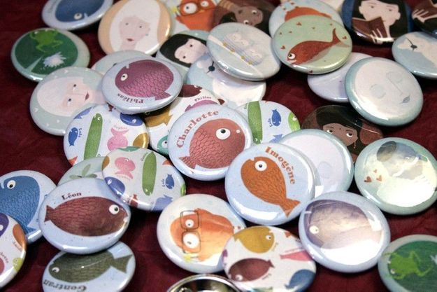 Badges Germaine Caillou