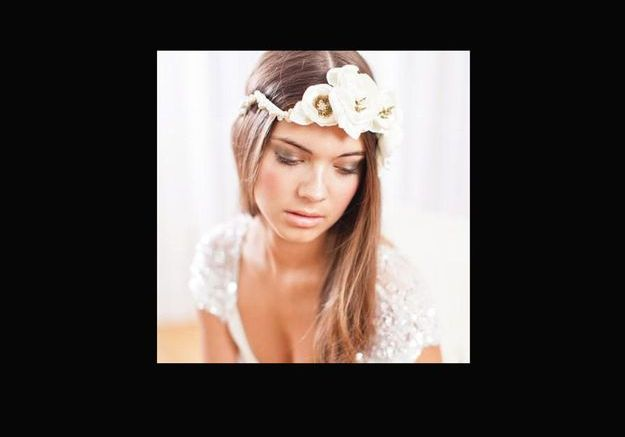 Fleurs Blanches Perles