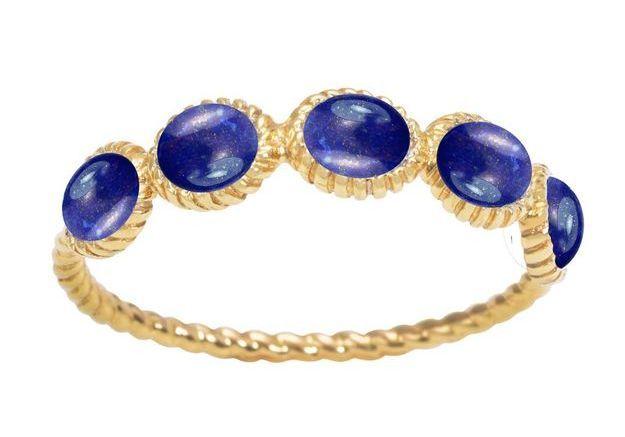 Alliance originale en lapis lazuli Lovingstone