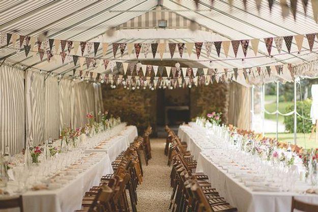 Disposition de tables mariage