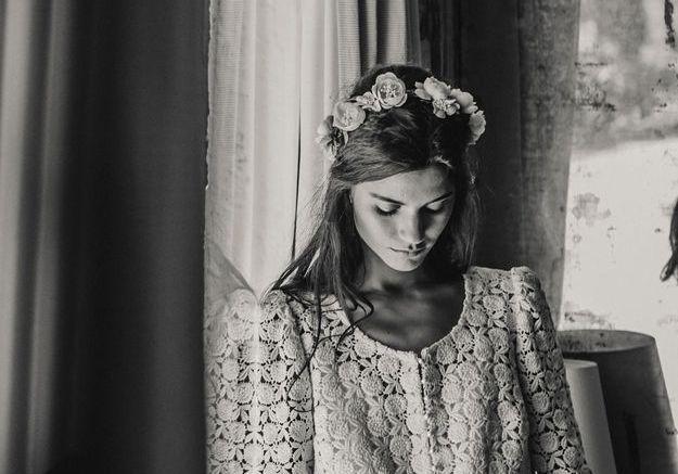 Veste de mariée Laure de Sagazan